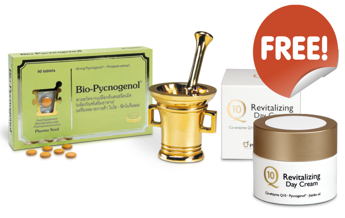 Bio-Pycnogenol + Q10 Revitalizing Day Cream